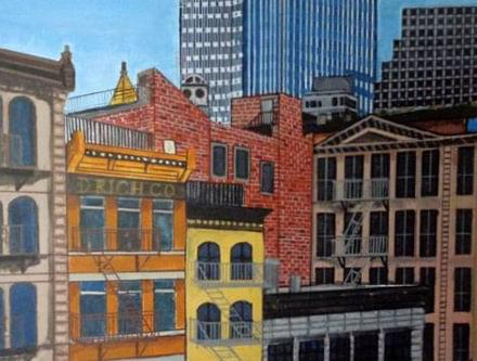 art painting of chelsea new york
