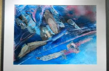 art painting abstract aerial